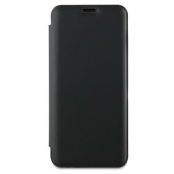 Qilive - Custodia a libro Nero - Galaxy S9