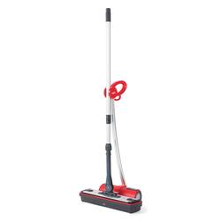 Polti - Moppy Red, Pulitore a vapore verticale, 0,7 L, 1,8 m, CE, Nero, Rosso, 1500 W