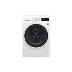 LG - F4J6VN0W, Libera installazione, Caricamento frontale, Bianco, Pulsanti, Touch, LED, Bianco