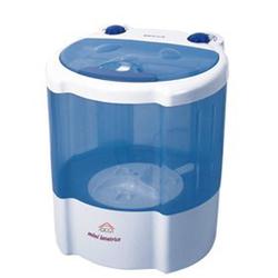 DCG Eltronic - Mini lavatricePortatile Caricamento dall'alto 2kg Blu, Bianco ML5950