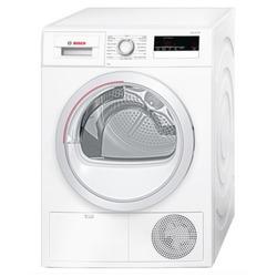 Bosch - Serie 4 WTH85207IT, Libera installazione, Caricamento frontale, Pompa di calore, Bianco, Manopola, Touch, Destra