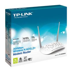TP-LINK - TD-W8961N, IEEE 802.11n, 300 Mbit/s, IEEE 802.11b,IEEE 802.11g,IEEE 802.11n, Fast Ethernet, 10,100 Mbit/s, 10/100Base-T(X)