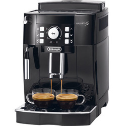 DeLonghi - ECAM 21.110.B, Macchina per espresso, 1,8 L, Chicchi di caffè, Caffè macinato, 1450 W, Nero