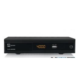 TELE System - TS4000, Cavo, DVB-S2,DVB-T2, 1920 x 1080 Pixel, 480i,480p,576i,576p,720p,1080i,1080p, H.264,H.265,HEVC,MPEG2,MPEG4, Nero