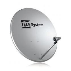TELE System - TE80, 10,75 - 12,75 GHz, 38,5 dBi, 80 cm, 845 mm, 745 mm, Grigio