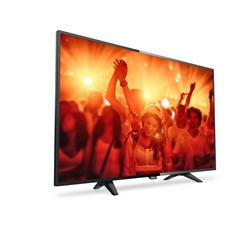 """PHILIPS - 4000 series TV LED ultra sottile 32PHT4131/12, 81,3 cm (32""""), 1366 x 768 Pixel, HD, LED, DVB-C,DVB-T,DVB-T2, Nero"""