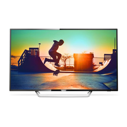 "Philips - 6000 series Smart TV LED ultra sottile 4K 65PUS6162/12, 165,1 cm (65""), 3840 x 2160 Pixel, LED, Smart TV, Wi-Fi, Nero"