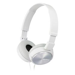 Sony - MDR-ZX310AP, Cablato, Padiglione auricolare, Stereofonico, 10 - 24000 Hz, 98 dB, Bianco