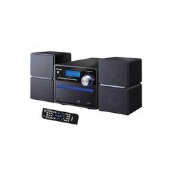 New Majestic - AH-2336 MP3 USB, Home audio micro system, Nero, 2-vie, FM, LCD, MP3,WMA