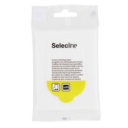 Selecline - Salviette detergenti per schermi 20pz