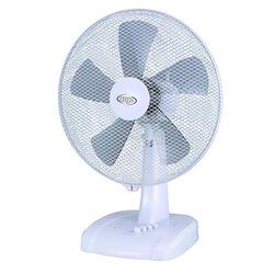 ARGO - GINGER, Ventilatore domestico con pale, Bianco, Tavolo, Pulsanti, 50,69 m³/h, 2 h