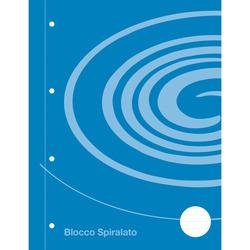 Auchan - Blocco spiral 1 rigo 120 fogli
