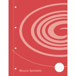 FABER-CASTELL - Blocco  Spirale Auchan 5mm.  60 fogli A4 con fori