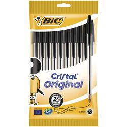 BIC - 10 Cristal Original Nere