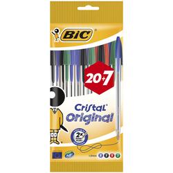 BIC - 20+7 Cristal Original Promo Pack