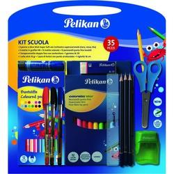 PELIKAN - Pelikan Kit Scuola 35 pezzi
