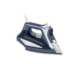 Rowenta - Ferro da stiro a secco e a vapore Acciaio inossidabile 2600W Blu, Bianco DW5210