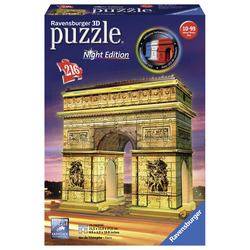 RAVENSBURGER - Arco Di Trionfo - Puzzle 3D Building Night Edition