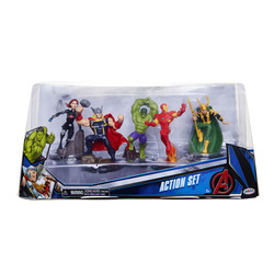JAKKS PACIFIC - Avengers Action Set 5 personaggi