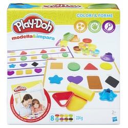 HASBRO - Play-Doh - Colori e Forme (Modella e Impara)