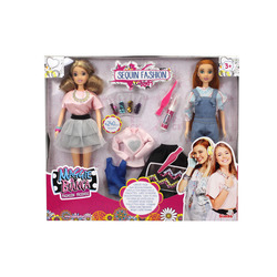 SIMBA - Maggie & Bianca Set 2 Fashion Doll Con Accessori