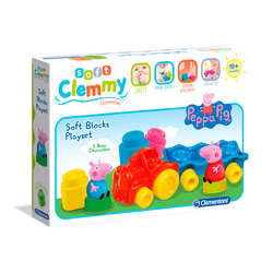 CLEMENTONI - Clemmy Playset Peppa Pig
