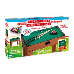 RSTOYS - Biliardo Legno Con Gambe Cm 69X37X69
