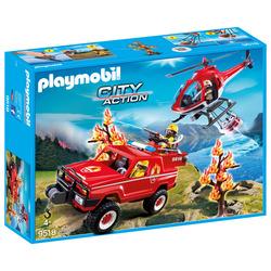 PLAYMOBIL - Super Set Pompieri Forestali