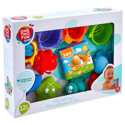 ONE TWO FUN - Set Bagnetto 12 Pezzi