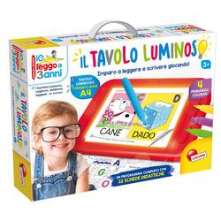 LISCIANI - Io Leggo A 3 Anni Con Tavolo Luminoso