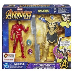 HASBRO - Avengers: Infinity War - Iron Man vs. Thanos Hero Vision