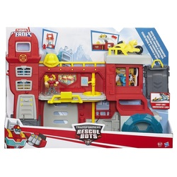 HASBRO - Transformers Rescue Bots - Griffin Rock Firehouse Headquarters