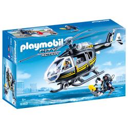 PLAYMOBIL - Elicottero Unità Speciale Con Sommozzatore