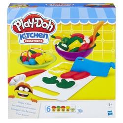 HASBRO - Play-Doh - Crea e Servi