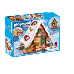 PLAYMOBIL - Forno Di Babbo Natale Con Stampi Per Biscotti