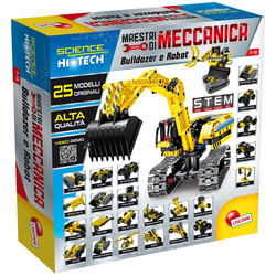 LISCIANI - Scienza Hi Tech Maestri Di Meccanica Bulldozer E Robot 25 In 1