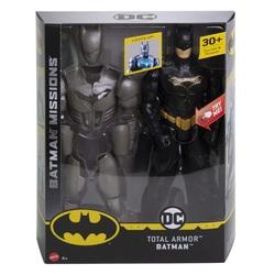 MATTEL - Batman Total Armor - Personaggio articolato da 30cm