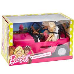 INTERNATIONAL - Barbie e Ken nel veicolo da spiaggia