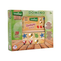 GLOBO - Domino Degli Animali In Legno