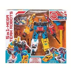 RSTOYS - Mega Robots 5 In 1