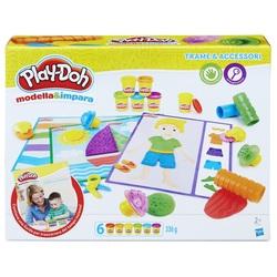 HASBRO - Play-Doh - Texture e Attrezzi (Modella e Impara)