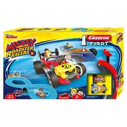 CARRERA - Pista Mickey Roadstar Racers - 2,4 m - a batteria