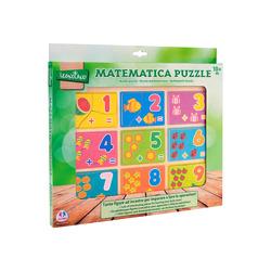 GLOBO - Puzzle in legno con numeri