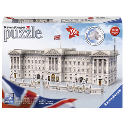 RAVENSBURGER - Buckingham Palace - Puzzle 3D Building