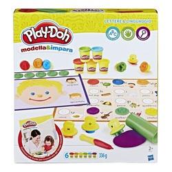 HASBRO - Play-Doh - Lettere e Lingue (Modella e Impara)