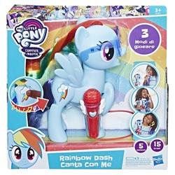 HASBRO - My Little Pony - Rainbow Dash Canta con me
