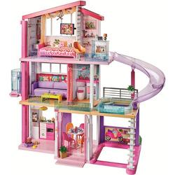 MATTEL - Barbie - Casa dei Sogni con 8 stanze, il garage, piscina e ascensore