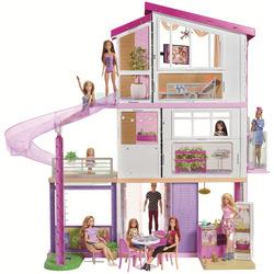 Barbie - Casa dei Sogni con 8 stanze, il garage, piscina e ascensore