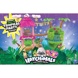 SPIN MASTER - Hatchimals Playset Tropicalparty