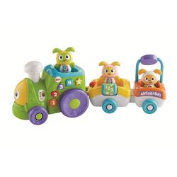 MATTEL - Fisher-Price- Il Trenino Di Robottino, giocattolo elettronico per bambini